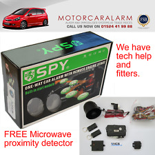SPY CAR ALARM SYSTEM & IMMOBILISER REMOTE ENGINE START & PROXIMITY DETECTION
