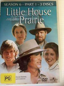 "WOMENS OR MEN DVDS ""Little House On Prairie Season 6/ 3DVDS Vintage TV SHOW LOVE"