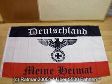 Fahnen Flagge Deutsches Reich Deutschland Meine Heimat Reichsadler - 90 x 150 c