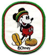 "2.75X3.25"" Rastafari hat Mickey Mouse IRON ON SEW ON PATCH music Jamaica beanie"