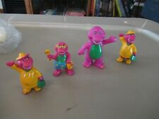 Barney lot of 4 PVC figures vintage