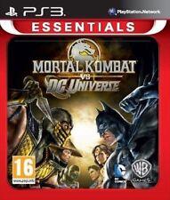 Mortal Kombat Vs DC Universe Essentials PS3 - Brand New and Sealed