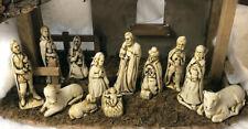 Harmony kingdom artst Neil Eyre EyreDesigns Christmas Nativity set of 12 natural