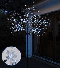 Lichterbaum 600 LED kaltweiß 2,5 m - Weihnachtsbaum Baum Tannenbaum Außen Innen