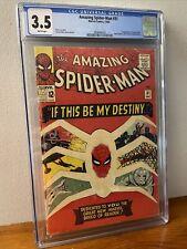 Amazing Spiderman #31 CGC 3.5 Marvel 1965 1st App. of Gwen Stacy & Harry Osborn