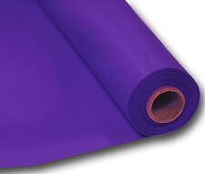 Party Purple Plastic Table Roll - 1m X 30.5m Amscan