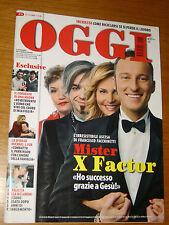 OGGI 2009/15=X FACTOR=TERREMOTO L'AQUILA=CASTELLIRI=FACEBOOK=JURY MAGLIOLO