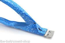 Cortador De Punta Azul Acrílico Gel Uñas Falsas Arte Clipper Manicura Pedicura Fácil Agarre