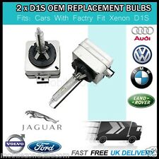 2 X D1S BULBS 6000K XENON WHITE OEM REPLACEMENT AUDI VW MERCEDES BMW FORD JAGUAR