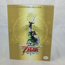 The Legend of Zelda Skyward Sword Premiere Edition Guide Book No Poster