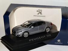 1 43 NOREV Peugeot 508 Mie-vie Saloon 2014 silver