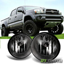 For Smoked 2005-2011 Toyota Tacoma Sequoia Fog Lights+Switch+Bulbs Left+right