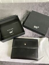 Mont Blanc Female Wallet 3 CC With Coincase Boxed Immaculate