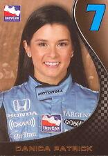 INDY CAR INDYCAR PREMIERE SERIES 2007 RITTENHOUSE DANICA PATRICK PROMO CARD P1