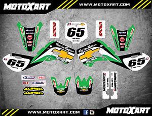 Kawasaki KX 65 / 2000 - 2017 full custom graphics kit SHIFTER style / stickers