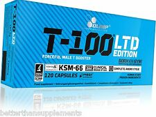 Olimp T-100 Limted Edition 120caps. in box ! Strong Male T Booster - free P&P !