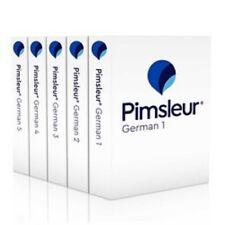 Pimsleur GERMAN Levels 1-5 PREMIUM Complete Course NEW EDITION