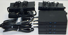 New listing Lot of 4 Dell Wd15 Usb C Docking Stations K17A 130W Power Adapters