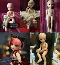Blank 1/6 SD BJD Girl Doll Resin Material Handmade Ball Join Cute DIY Toy