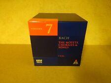 7-CD BOX BACH 2000 TELDEC DAS ALTE WERK 7 / BACH - THE MOTETS, CHORALES & SONGS