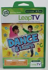 Leap Frog LeapTV Dance & Learn Educational & Active Game Pre-K-1st grade, NEW