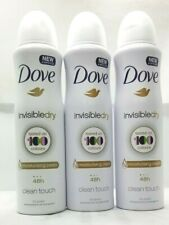 DOVE INVISIBLE DRY Deodorant & Body Spray 48H FRESH 150ml Pack Of 3