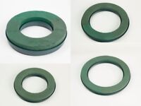"OASIS® NAYLORBASE® Rings X 2 WET FOAM RINGS 10""12""14""16"" WREATH RINGS FUNERAL"
