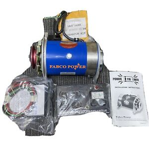 New Fabco Power Mite 110 Belt Driven Generator Kit w/ Control Box + Voltage Reg