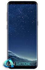Neuf Samsung Galaxy S8 Plus S8+ G955FD Dual SIM 64GB LTE Unlocked - Black Noir