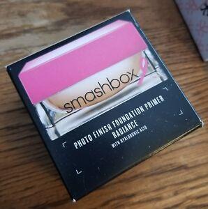 NIB! Smashbox Photo Finish Foundation Primer Radiance with Hyaluronic Acid 1oz