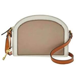 Fossil Chelsea Neutral Crossbody Handbag NEW $128