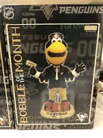 Pittsburgh Penguins NEW YEARS Bobble Of The Month PENS ICEBURGH FoCo BOBBLE BNIB