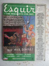 Esquire Magazine - November 1944, VARGA Pinup, Red Grange Print