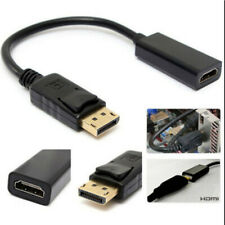 Display Port DP Male to HDMI Female Adapter Cable Connectors For Dell HP Lenovo