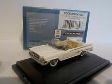 Chrysler 300 convertible - White, 1/87 New Oxford 87cc61003