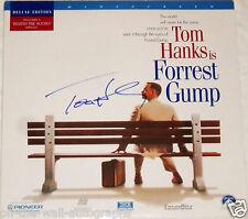 Tom Hanks Hand Signed Autographed Forrest Gump Laserdisc! Rare! With Proof + Coa