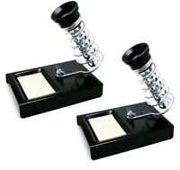 2 Pack of Soldering Iron Stand Support Station with Metal Base and Solder Sponge