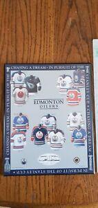 Vintage 2001 Edmonton Oilers Jersey Plaque Gretzky Messier Coffey Fuhrman McDavi