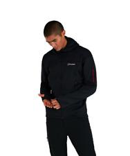 Berghaus Pravitale Mountain 2.0 Hooded Fleece Jacket 422282/C63 Dark Grey/Black