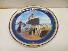 Titanic Bradford Exchange Collector's Plate #3 On The Prmenade James Griffin Art