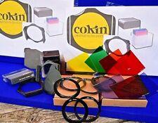 COKIN FILTERS 20PC FILTER SET 12X COKIN 'A' FILTERS 3X ADAPTORS 2X HOLDERS ETC..