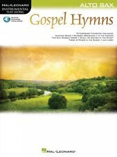 Gospel Hymns for Alto Sax Instrumental Play-Along Book and Audio NEW 000194650