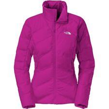 North Face Women's Fuseform Dot Matrix Down Jacket Coat Dramatic Plum S $349 Nwt