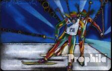 RFA (FR.Allemagne) p107 p 15/93 usé 1993 ski de fond