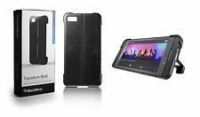 Genuine BLACKBERRY TRANSFORM BLACK SHELL CASE FOR Z10 With FREE SCREEN Protector