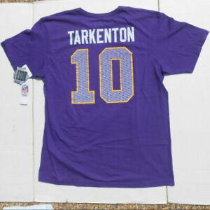 NWT Fran Tarkenton Minnesota Vikings Hall of Fame T-Shirt Size XL
