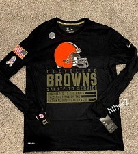 2020 Cleveland Browns Nike Salute to Service Dri-Fit Long Sleeve Shirt ALL SIZES
