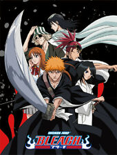 Bleach Group Microfiber Fleece Throw Blanket Anime Manga New