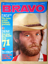 Bravo 8/1971 Pierre Brice, Guess Who, Karel Gott  - TOP