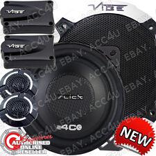 """Vibe Slick 4C V3 4 """" 420W auto van porta tweeter crossover ALTOPARLANTI componente impostato"""